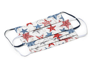 Joyful Gnomes Stars and Stripes Patriotic Handmade Cloth Face Masks