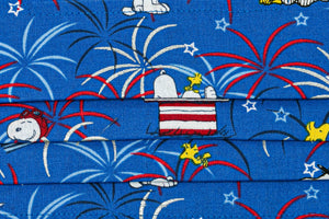 Snoopy Patriotic Cloth Face Masks #2 (2)