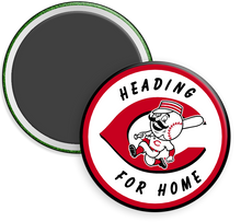 Load image into Gallery viewer, Cincinnati Reds Button Magnet
