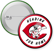 Load image into Gallery viewer, Cincinnati Reds Button Pin