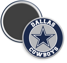 Load image into Gallery viewer, Dallas Cowboys NFL Football Button Magnet