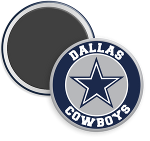 Dallas Cowboys NFL Football Button Magnet