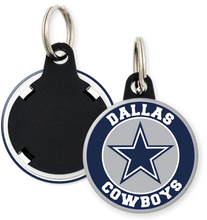Load image into Gallery viewer, Dallas Cowboys NFL Football Button Keyring