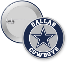 Load image into Gallery viewer, Dallas Cowboys NFL Football Button Pin