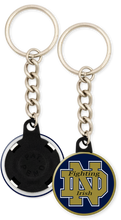Load image into Gallery viewer, University of Notre Dame Fighting Irish Button Keychain