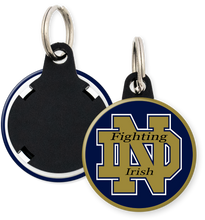 Load image into Gallery viewer, University of Notre Dame Fighting Irish Button Keyring