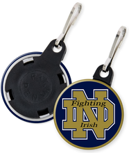Load image into Gallery viewer, University of Notre Dame Fighting Irish Button Zipper Pulls