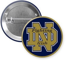 Load image into Gallery viewer, University of Notre Dame Fighting Irish Button Pin