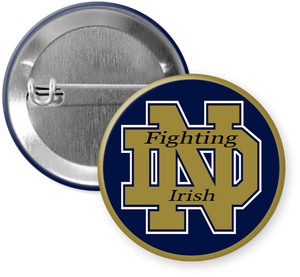 University of Notre Dame Fighting Irish Button Pin