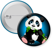 Load image into Gallery viewer, Panda Bear Button Pin