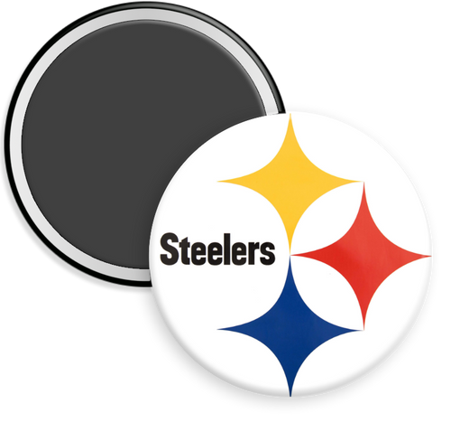 Pittsburg Steelers NFL Football Button Magnet
