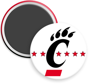 University of CIncinnati Button Magnet