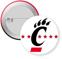 Load image into Gallery viewer, University of CIncinnati Button Pin