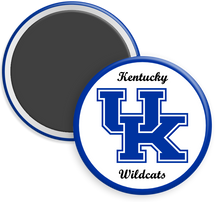 Load image into Gallery viewer, University of Kentucky Button Magnet