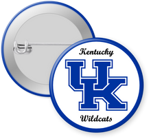 Load image into Gallery viewer, University of Kentucky Button Pin