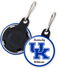 Load image into Gallery viewer, University of Kentucky Button Zipper Pull