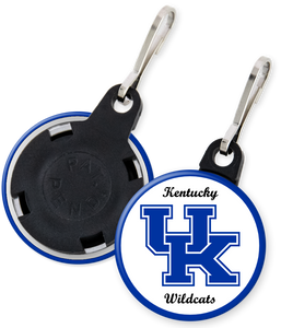 University of Kentucky Button Zipper Pull
