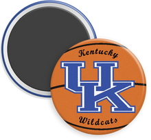Load image into Gallery viewer, University of Kentucky Wildcats Button Magnet