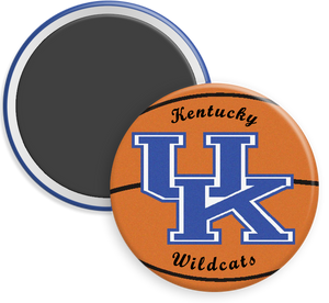 University of Kentucky Wildcats Button Magnet