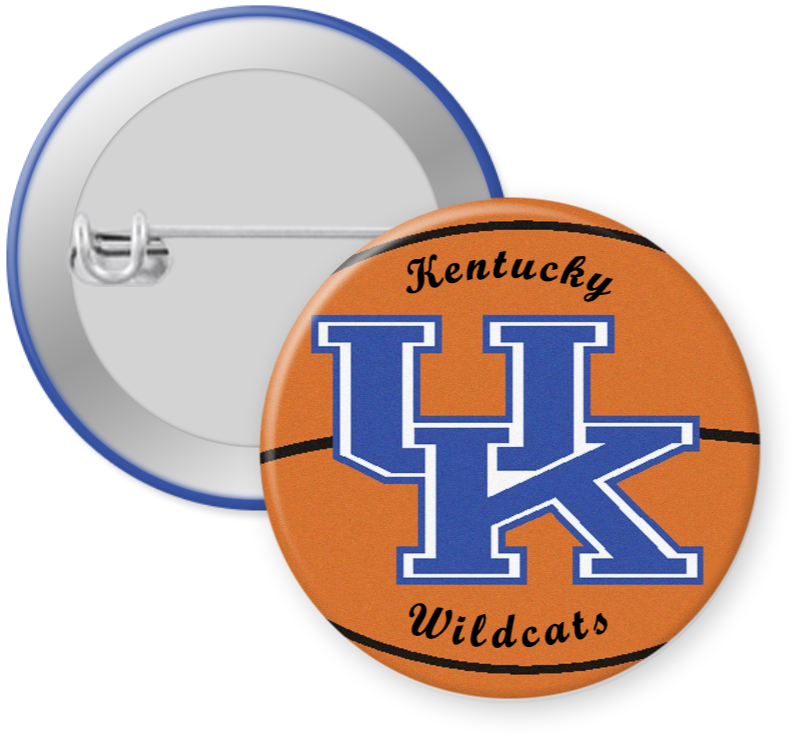 University of Kentucky Wildcats Button Pin