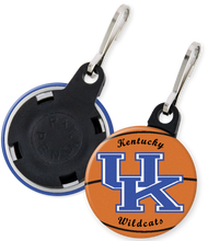 Load image into Gallery viewer, University of Kentucky Wildcats Button Keyring Keychain