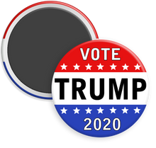 Load image into Gallery viewer, Trump 2020 Campaign Button Magnet