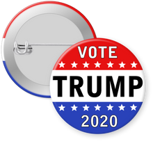 Load image into Gallery viewer, Trump 2020 Campaign Button Pin