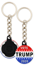 Load image into Gallery viewer, Trump 2020 Campaign Button Keychain