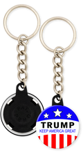 Load image into Gallery viewer, Trump Keep America Great Trump 2020 Campaign Keychain