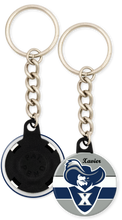 Load image into Gallery viewer, Xavier University Button Keyring Keychain