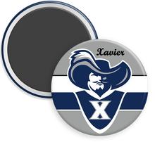 Load image into Gallery viewer, Xavier University Button Magnet