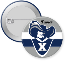 Load image into Gallery viewer, Xavier University Button Pin