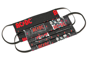 ACDC highway to heaven cloth face masks
