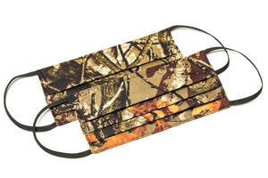 camouflage handmade reusable cotton face mask