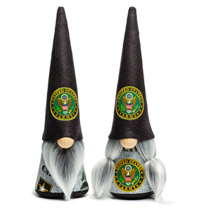 United States Army military service fabric gnome