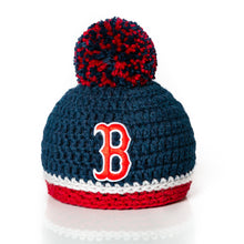 Load image into Gallery viewer, Boston Red Sox Newborn Baby Hat