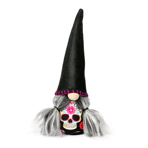 Handmade Day of the Dead Gnome by Joyful Gnomes