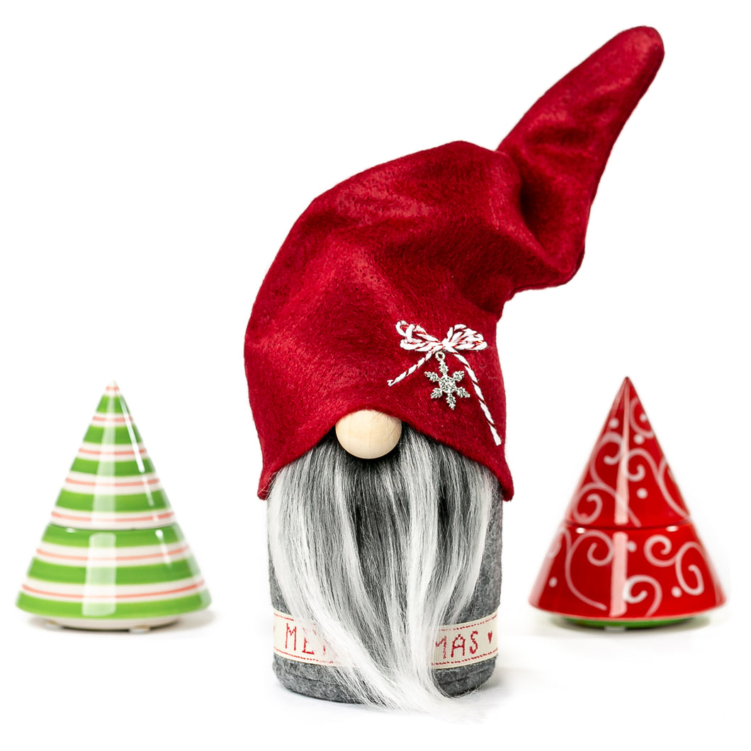 Handmade fabric Christmas Gnomes