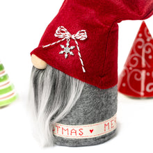 Load image into Gallery viewer, Handmade fabric Christmas Gnomes