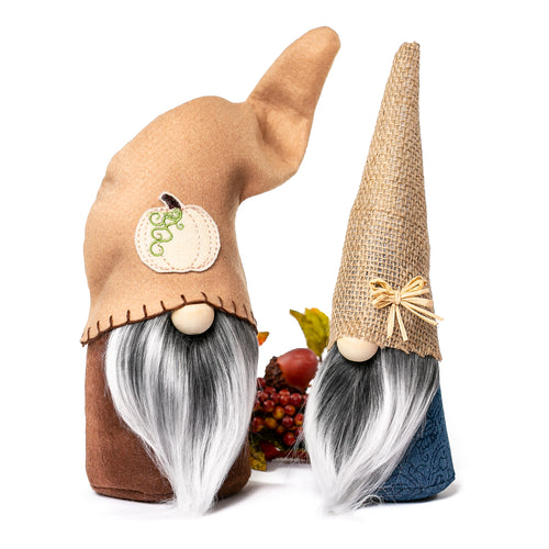 Fall Harvest Pumpkin Gnomes by Joyful Gnomes