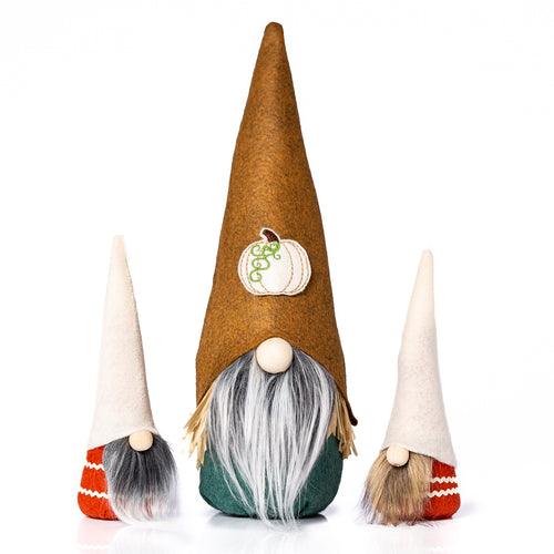 Fall Holiday Pumpkin Gnomes by Joyful Gnomes