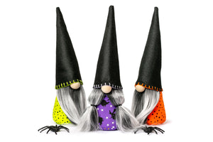 Halloween Witch Gnomes by Joyful Gnomes
