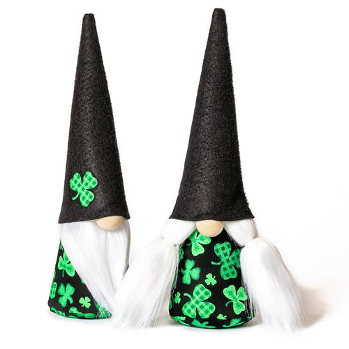 St Patrick's Day Gnomes Nordic Style Scandinavian Swedish Tomte