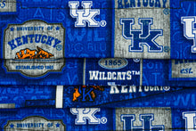 Load image into Gallery viewer, University of Kentucky UK cloth face mask fabric