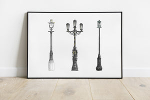 Lampposts Series