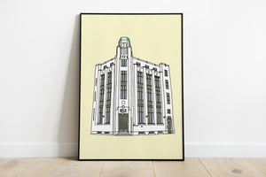 Art Deco Bank - Pop Print