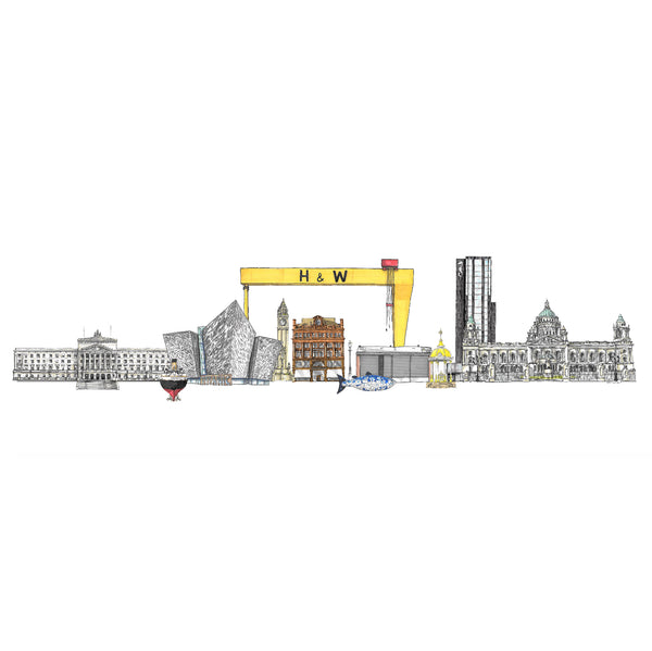 Belfast Skyline Bookmark