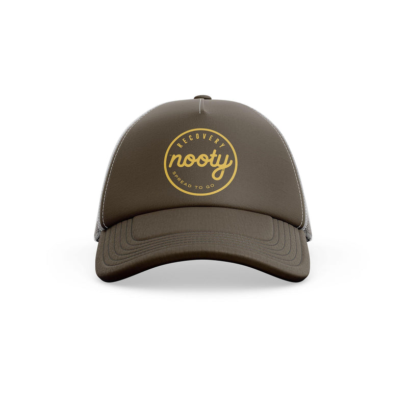 Boco Hat - Brown/Yellow/Grey - Nooty, Almond Butter, Nut butter, hazelnut, Whey protein, post work out, protein bar