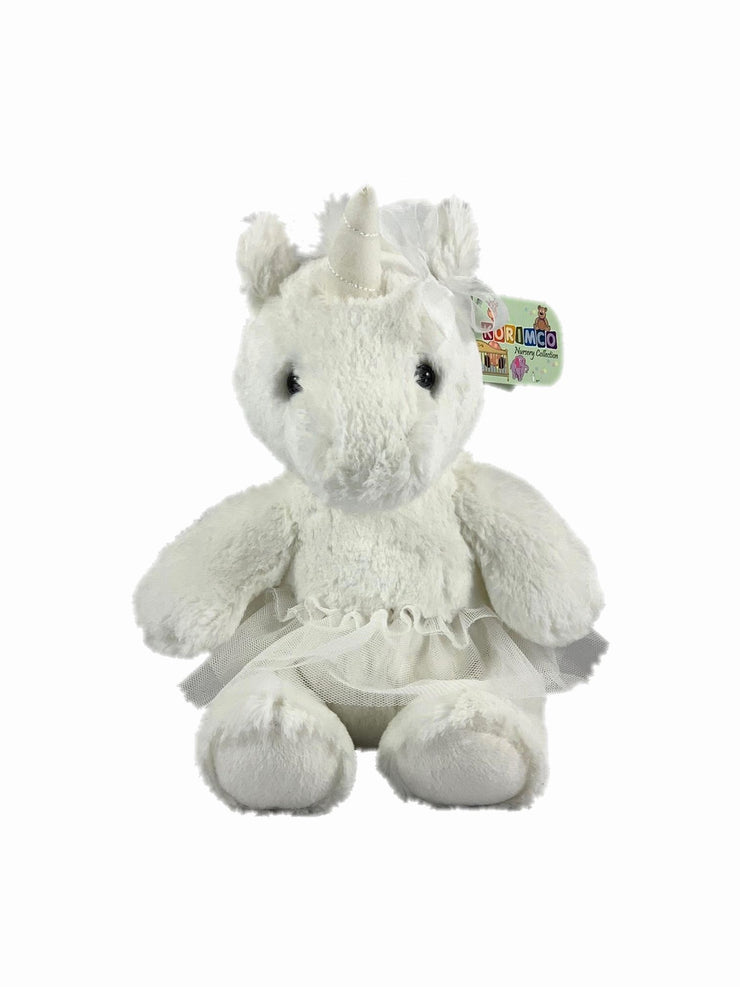 Soft toy ballerina unicorn