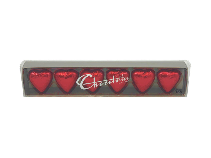 Chocolates, red hearts 45 gm